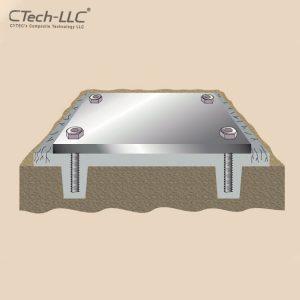 گروت رزین اپوکسی CTech-LLC